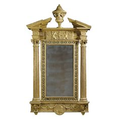 c1770 A George III carved giltwood wall mirror Irish, circa 1770, attributed to Francis and John Booker Estimate   35,000 — 40,000  GBP 53,130 - 60,720USD  LOT SOLD. 97,250 GBP (147,626 USD)