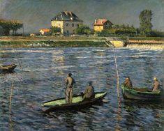 Gustave Caillebotte-Fischerboote auf der Seine