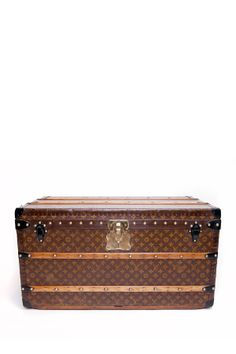 Vintage Louis Vuitton Monogram Print Trunk