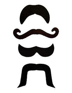 photobooth mustache template, #diy
