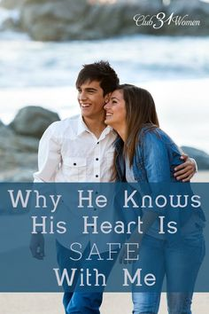 Is your husband's heart safe with you? Can he count on you to be loyal and trustworthy? He needs to know that his heart is securely tucked in yours...Why He Knows His Heart Will Always Be Safe With Me ~ Club31Women