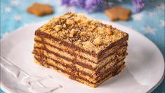 Tort de biscuiti Carmen - YouTube Romanian Desserts, No Cook Desserts, Nutella, Biscuit, Banana Bread, Sweet Tooth, The Creator, Gluten Free, Cookies