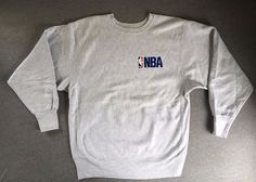 CHAMPION REVERSE WEAVE Sweatshirt 90s NBA Vtg Basketball Men's XL Sports USA  #Champion #Hoodie