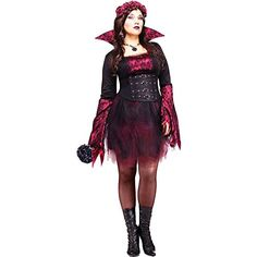 Goth Rose Vampira Plus Size Costume Plus Size ** Visit the image link more details.