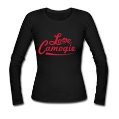 Love Camogie Long Sleeve Shirt | Spreadshirt | ID: 13014179 Shirt Sleeves, Long Sleeve Shirts, T Shirt, I Work Out, Sweatshirts, Lady, Sports, Sweaters, Women