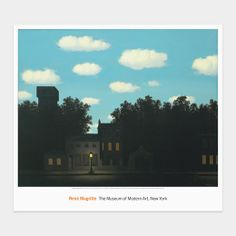 Magritte: The Empire of Light, II print $18.95 - MoMA