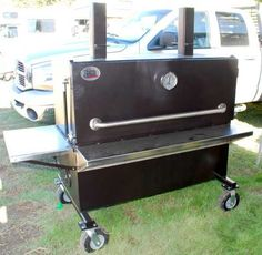 Jack's Old South insulated smoker. Barbecue Grill, Grilling, Bar B Que Grills, Bbq World, Smoker Cooker, Barrel Smoker, Smoking Food, Natural Charcoal, Smoke Bbq