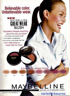 Maybelline Blush ad