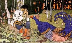 Ivan Bilibin Russian fairy tale Maria Morevna