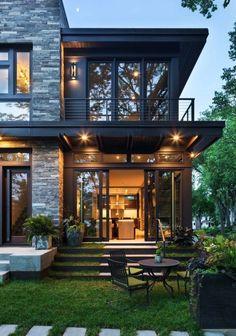 31 Amazing Contemporary House Exterior Design Ideas 31 Amazing C. - 31 Amazing Contemporary House Exterior Design Ideas 31 Amazing Contemporary House E - Dream Home Design, Modern House Design, Modern House Exteriors, Modern Lake House, Modern Exterior, Modern House Styles, Big Modern Houses, Modern Backyard Design, Glass House Design