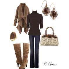 """brown"" by rachelann34 on Polyvore"