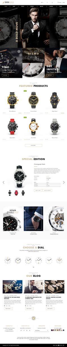 Swiss Eagle Watch Shopify Theme