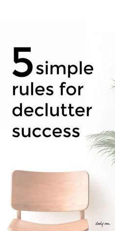 These simple declutter rules are the secret to successful decluttering. They make clear what NOT to do when decluttering to make sure you don't make a bigger mess and get overwhelmed. With these simple declutter rules and tips you can clear your clutter and organize your home. #declutter #decluttering #declutterrules #decluttertips Declutter Your Home, Organize Your Life, Organizing Your Home, Organising, Simple Rules, Minimalist Living, Healthy Living Tips, Life Organization, Good Morning Quotes