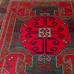 Persian carpet - love these colours!