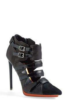 L.A.M.B. 'Kaine' Cage Bootie (Women) available at #Nordstrom
