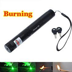 높은 전원 굽기 레이저 포인터 Sdlaser 303 <5 백만와트 532nm 강력한 녹색 레이저 포인터 팝 풍선 천문학 Lazer 포인터 펜