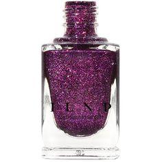 Xo Palatinate Purple Holographic Nail Polish (€9,31) ❤ liked on Polyvore featuring beauty products, nail care, nail polish, bath & beauty, grey, makeup & cosmetics, nail polishes, nails, grey nail polish and metallic nail polish