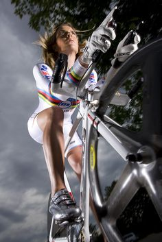 Hanka Kupfernagel. Women Elite - Time Trial. Bicycles Love Girls. http://bicycleslovegirls.tumblr.com/