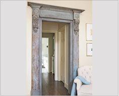 antique style doorway