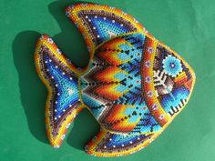 Huichol Art - Fish