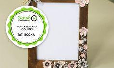 PORTA RETRATO COUNTRY - TATI ROCHA