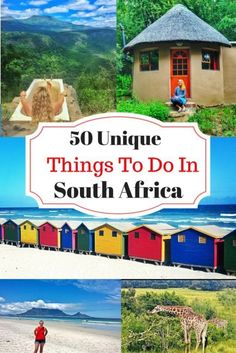 50I Unique Things To Do in South Africa