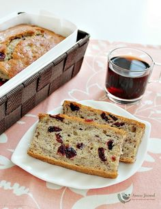 This is the most moist, soft and delicious banana bread that I ever tasted. It is so fragrant while it's being baking in the oven, I'm giving 5 stars for it