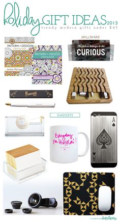 2013 holiday gift ideas: gadgets | holiday gifts under $45
