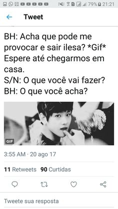 (Imagine Exo/Baek Ao Vc Provocar) K Pop, Bts Memes, Baekhyun, Fanfic Exo, Exo Imagines, Bts Bangtan Boy, Super Junior, Got7, Fanfiction