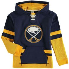Buffalo Sabres CCM Youth Vintage Pullover Hoodie - Navy - $59.99