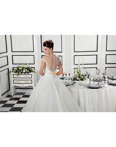 Church Princess Sleeveless Wedding Dresses 2014