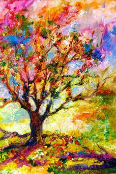 abstract oil impressionism paintings -my favorite