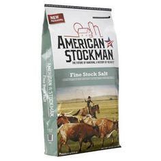 North American Fine Stock Ag Salt 50 Lb 50 lbContains the anti-caking agent yps & is used as both mixing salt & stock saltFor all classes of beef and dairy cattle sheep pigs and horsesPurity levels for fine stock is guarante Sheep Pig, Dairy Cattle, Pet Supplements, Pet Supplies, Salt, Models, Pets, American, Mineral