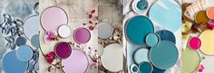 Wij houden van kleur bij MakeOver, kleuren die goed met elkaar te combineren zijn. 10 unieke kleurencombinaties voor in huis! Makeover.nl