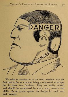 Phrenology Diagrams from Vaught's Practical Character Reader (1902)   The Public Domain Review