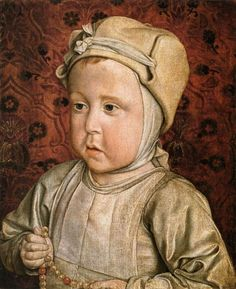 Portrait of the Dauphin Charles-Orlant, 1494, by Master of Moulins