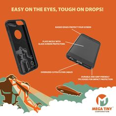 Amazon.com: Mega Tiny Corp Anti-Gravity Selfie Case for iPhone 6/6S: Cell Phones & Accessories