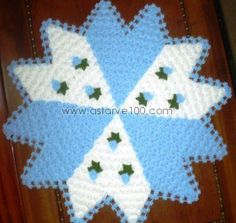 This Pin was discovered by Rey Chrochet, Knit Crochet, Kare Kare, Baby Knitting Patterns, Doilies, Projects To Try, Diy Crafts, Blanket, Creative