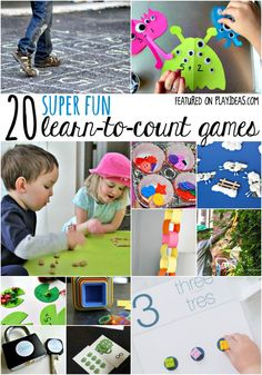 These counting games for preschoolers aren't just educational, they're FUN, too. Your kids will be begging to play them again and again. (We're sorry.)