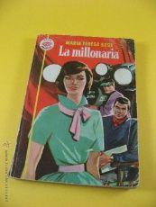 LA MILLONARIA DE MARIA TERESA SESE COLECCION AMAPOLA EDITORIAL BRUGUERA