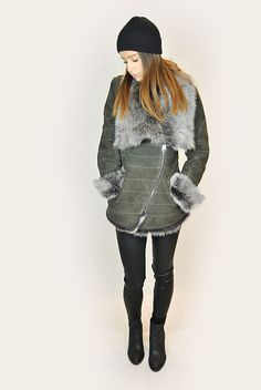 SHOP NOW! Striped Jacket, Shop Now, Winter Jackets, Smoke, Grey, Coat, Shopping, Collection, Fashion