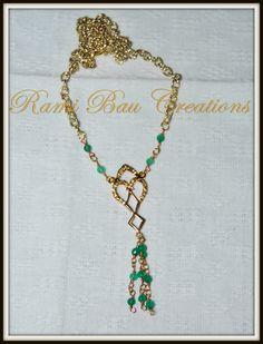 Vintage necklace handmade  https://www.facebook.com/pages/Rami-Bau-Creations/245004142221450