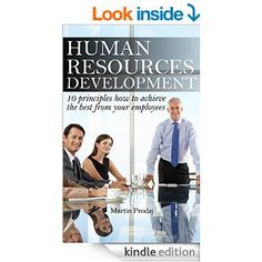 In this short ebook you will read the most important part of developing of human resources in any company. Following these basic principles can help you achieve most of your employees. We started with intention and goals of human resources development and go through all main aspects of human resources development.This ebook really help you in developing of human resources in your own company.