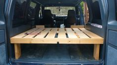 Simple camperized van - a place to lay your head :)