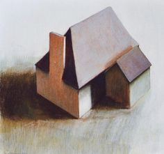 ardi brouwer Clay Houses, Miniature Houses, Small Houses, Little Houses, Form Board, Model Homes, Tiny Homes, Artsy Fartsy, Architecture Art