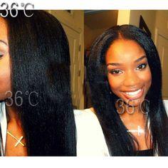 Italian Yaki Lace Wig Virgin Hair Kinky Straight Full Lace Wig Italian Yaki lace front  Wig Glueless Full Lace Human Hair Wig