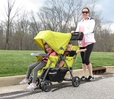 Joovy Caboose Ultralight Graphite Double Stroller Review