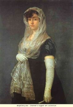 Francisco de Goya. The Bookseller's Wife.