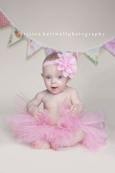 Baby girl tutu - Baby tutu - Photo prop tutu - Newborn Photo prop - Pink