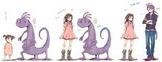 Disney & Cartoon In Anime - Monster University Disney Pixar, Disney Cartoons, Disney And Dreamworks, Disney Anime Style, Disney Fan Art, Anime Vs Cartoon, Cartoon Art, Cartoon Characters As Humans, Anime Characters